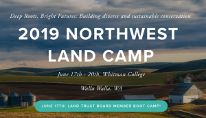 Northwest Land Camp 2019