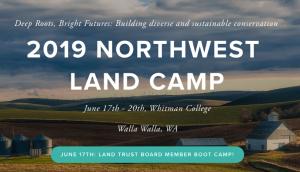 Northwest Land Camp 2019