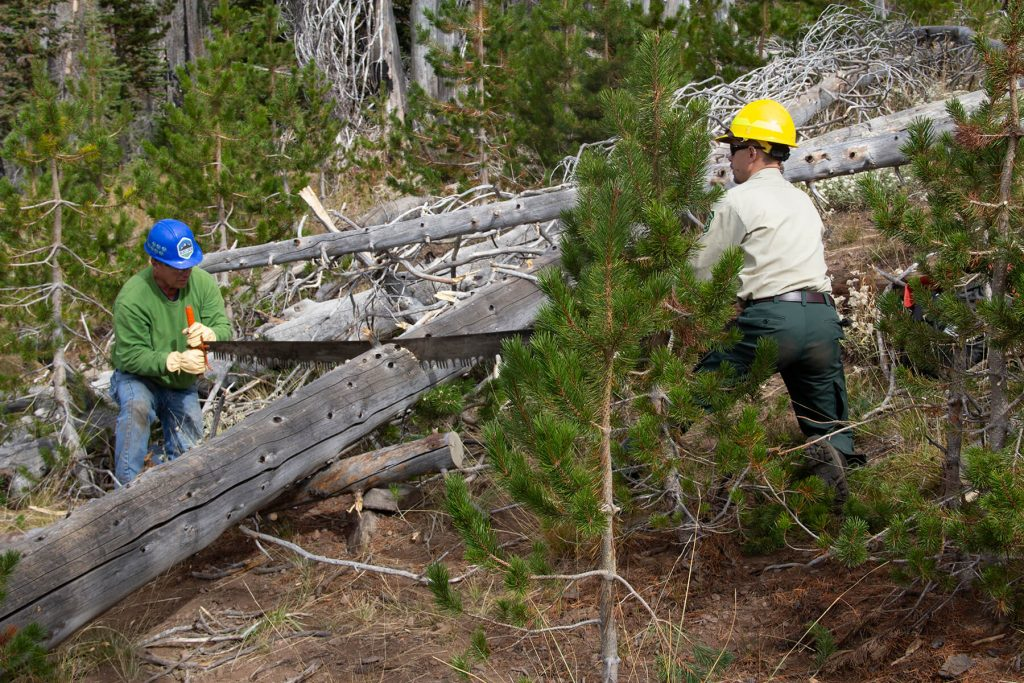 Blue Mountains Land Trust. Blues crews volunteers by Bill Rodgers