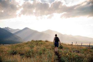Lone Hiker. Photo by Megan Zabel Holmes.