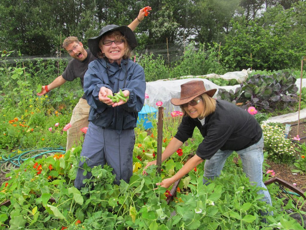 Alder Creek Farm Gardners. Lower Nehalem Community Trust.