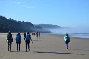 North Coast Land Conservancy. Participants in North Coast Land Conservancy's fundraiser CoastWalk Oregon. Carolyn Propst