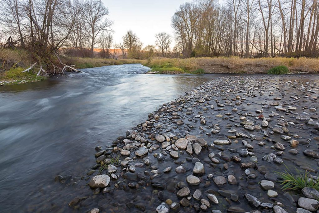 Wallowa Land Trust. Wolfe Farm confluence. Credit: Leon Werdinger