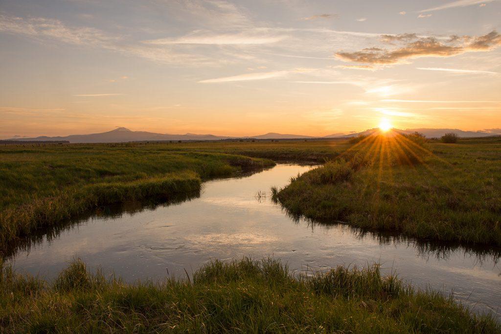 Williamson River, Klamath Marsh National Wildlife Refuge