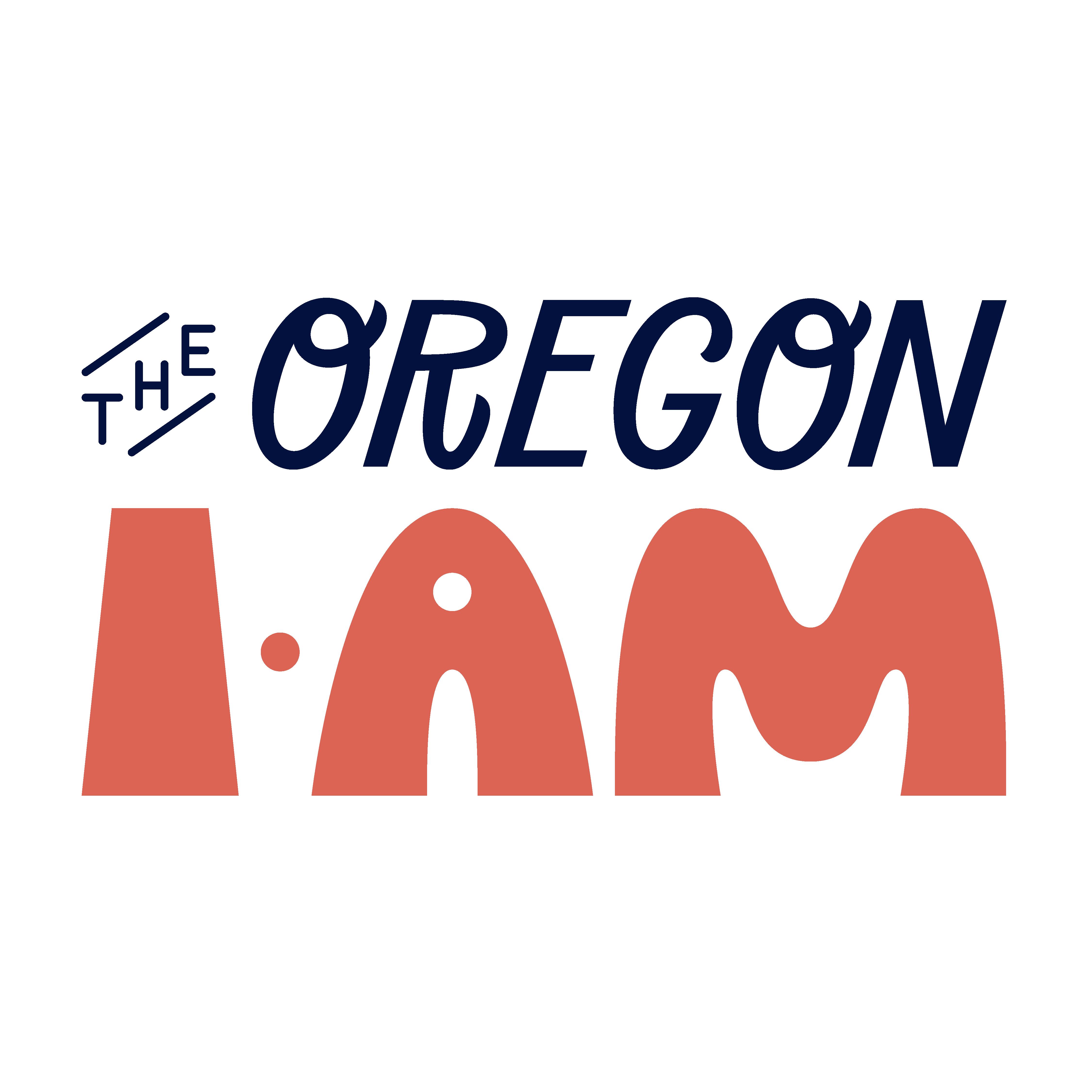 Oregon I AM Square Red Logo