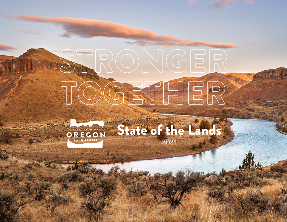 COLT State of the Lands Cover, featuring the John Day River